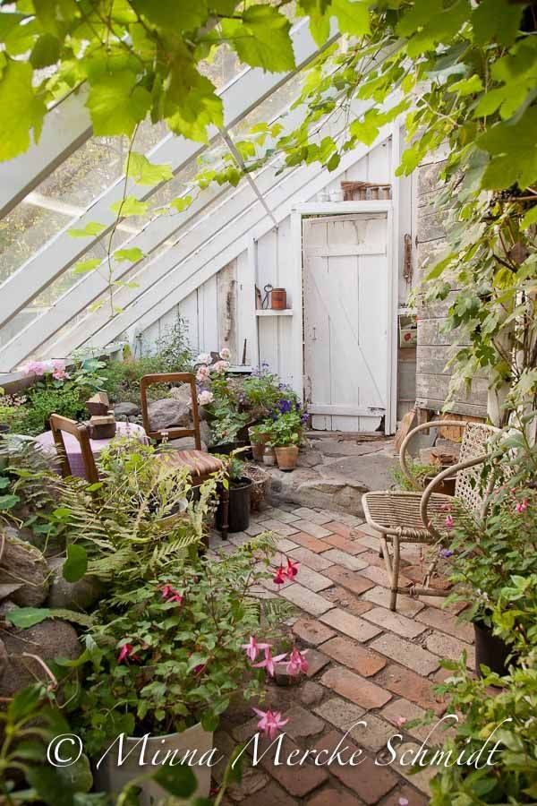 Beliebt Bevorzugt Boden und Dach | Gartenlaube | Garten gewächshaus, Gewächshaus @KJ_89