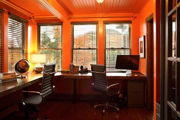 Modern Home Masculine Office Design Ideas Pictures Remodel And Decor Home Office Colors Modern Windows Design Modern Home Office
