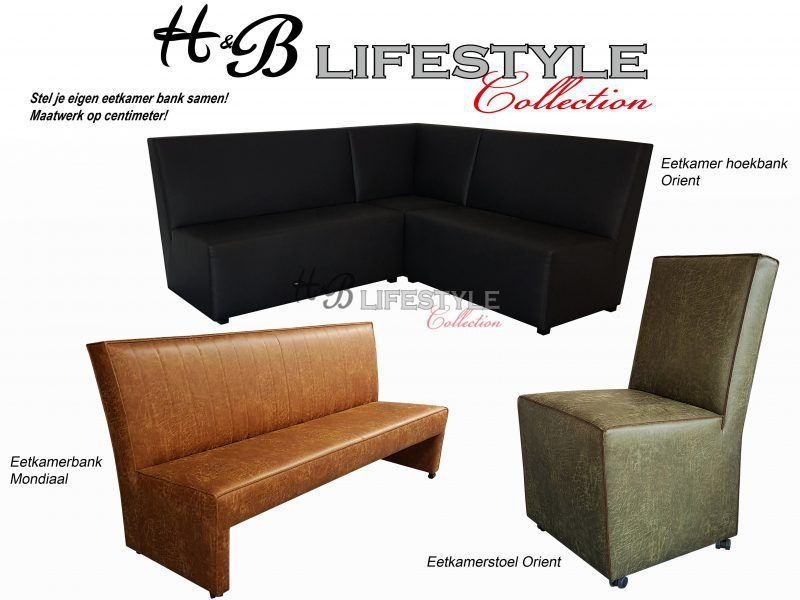 Eettafel hoekbank - HB Lifestyle Collection - Eettafel hoekbank ...
