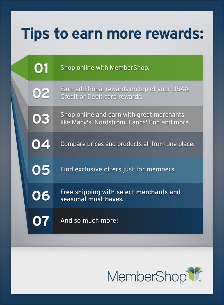 7 Tips To Help You Earn More Rewards With Usaa