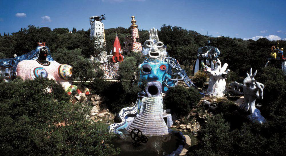 Aqqindex Tarot Public Sculpture Tuscany