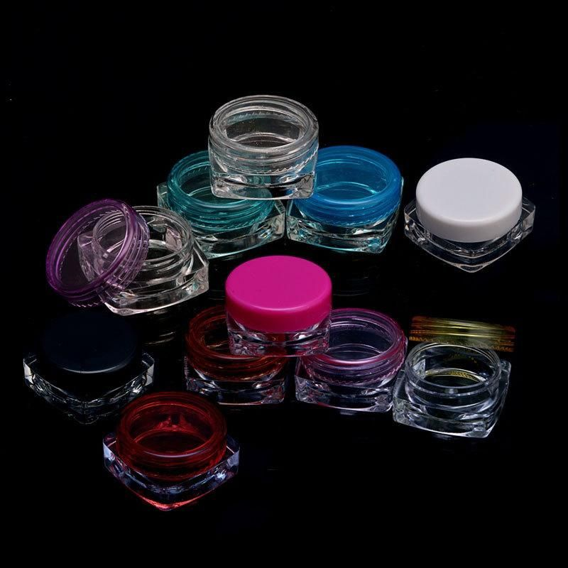 10 Pcs Multi Color Cosmetic Container Lip balm