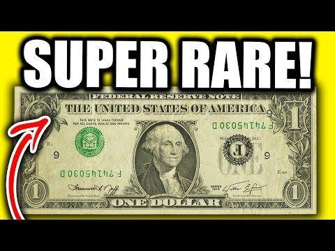 Don T Spend These Rare Dollar Bills Worth Money Rare Paper Money