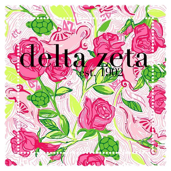 9985850b469bc7 Delta Zeta | Graphics | Lilly pulitzer prints, Delta zeta, Lilly ...
