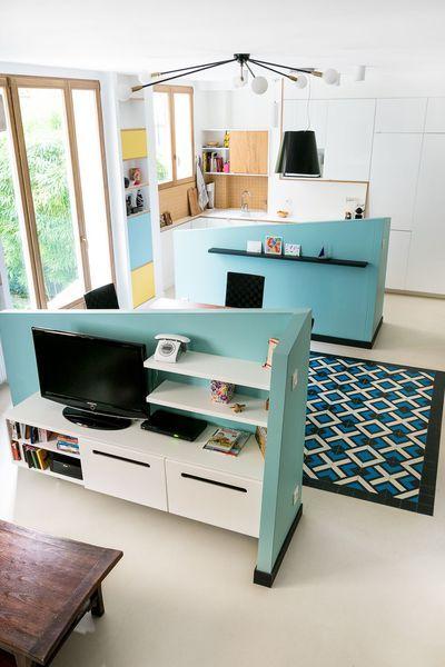 Restructuration et décoration d\u0027un appartement parisien par l\u0027agence