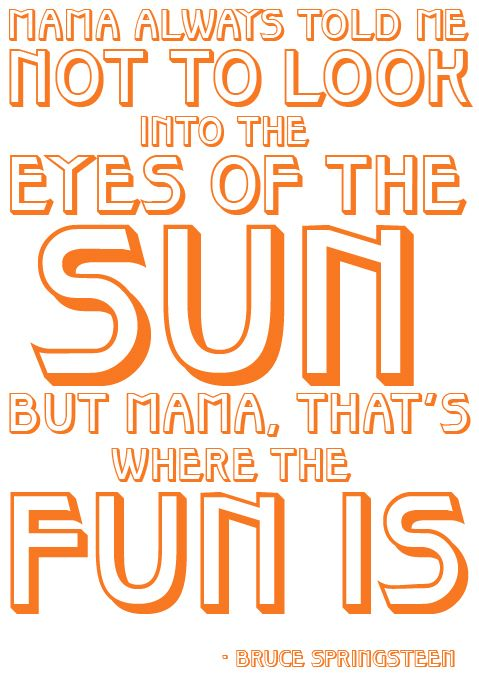 Blinded By The Light This Is One Of The First Lyrics That