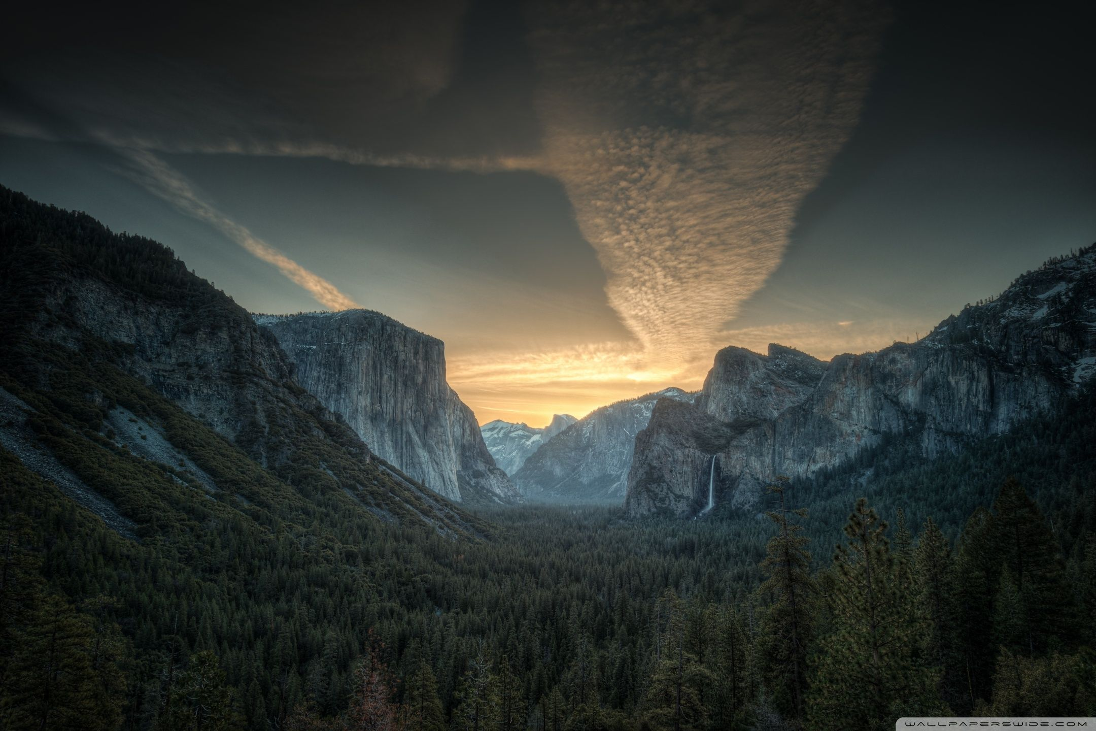 3 Surface Pro Wallpaper Yosemite mountains, Music of the