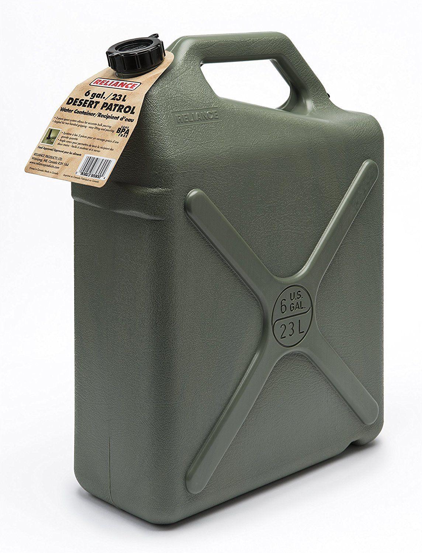 Amazoncom Reliance Products Desert Patrol 6 Gallon Rigid Water