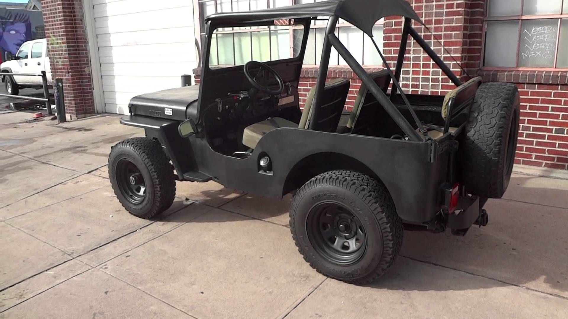 1951 Willys Jeep Navy Seals Black Ops Edition For Sale Willys Jeep Willys Jeep