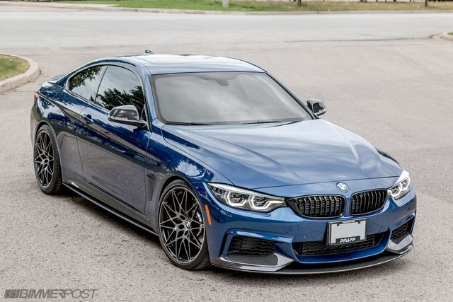Stunning Is This Bmw 440i M Performance Edition In Avus Blue
