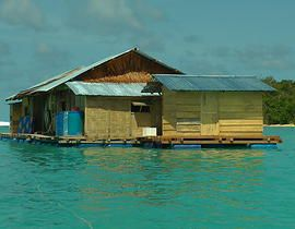 Floating Surf House Banyak.. Wow. What a cool idea. I think it