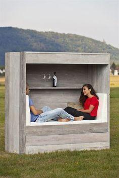 recycelte Fichtenbohlen - Pallet Ideas