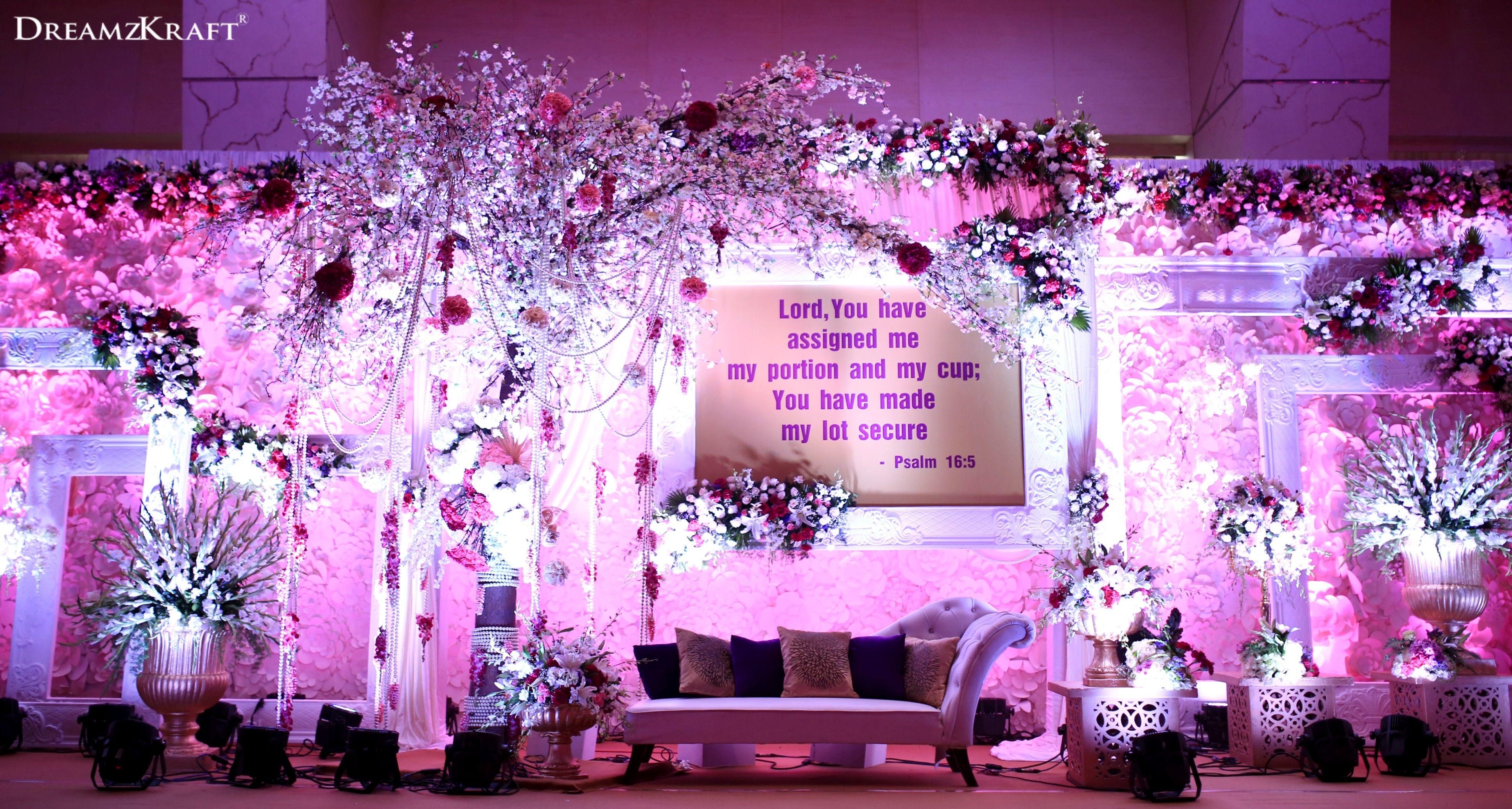 Wedding stage decoration dubai  As grand as life wedding weddingideas weddingdecor decor