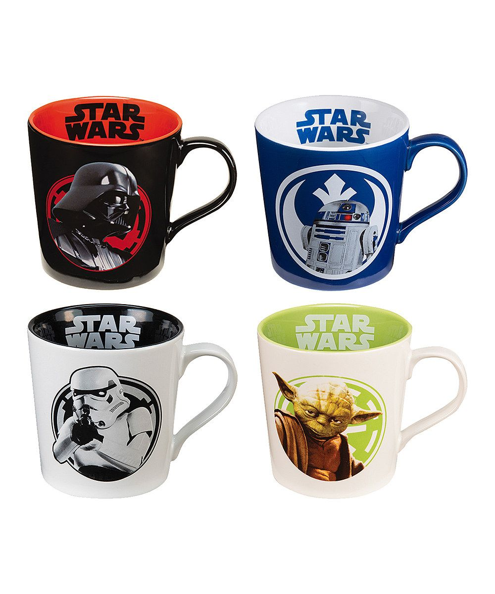 Look at this 12Oz Star Wars Mug Set of Four on zulily