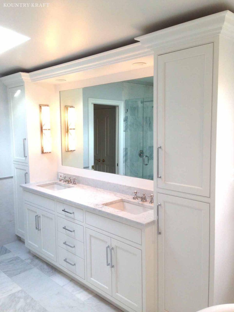 bathroom vanities with side towers in 2020 custom on custom bathroom vanity plans id=97848