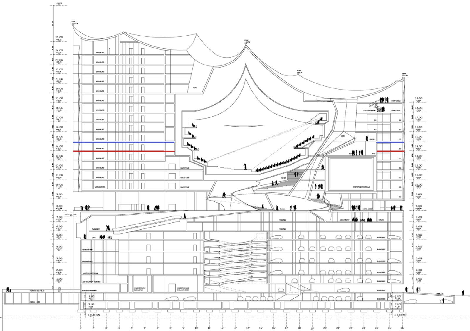 Images From Elbphilharmonie By Herzog De Meuron 16 Hamburg Diagram Architecture Herzog