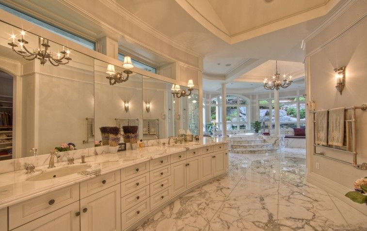 Luxury Master Bathrooms Mansions Luxury Architecture With High End Interior Design