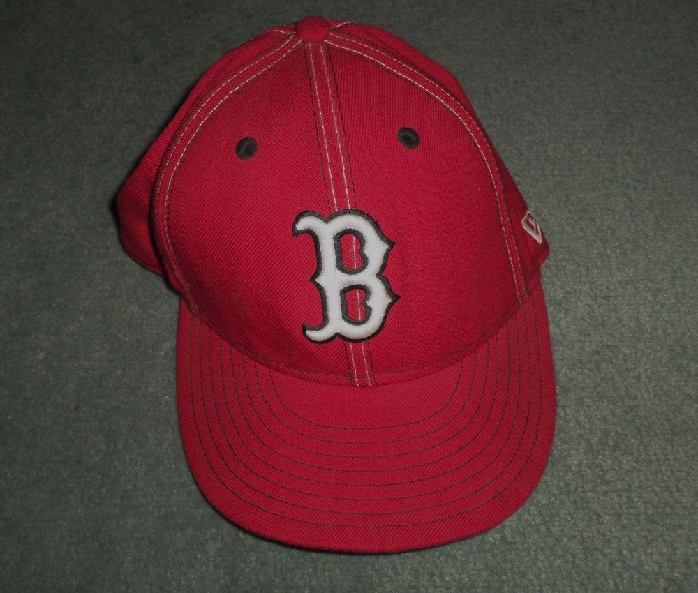 Men's Red & White BOSTON RED SOX NEW ERA 59FIFTY MLB Logo