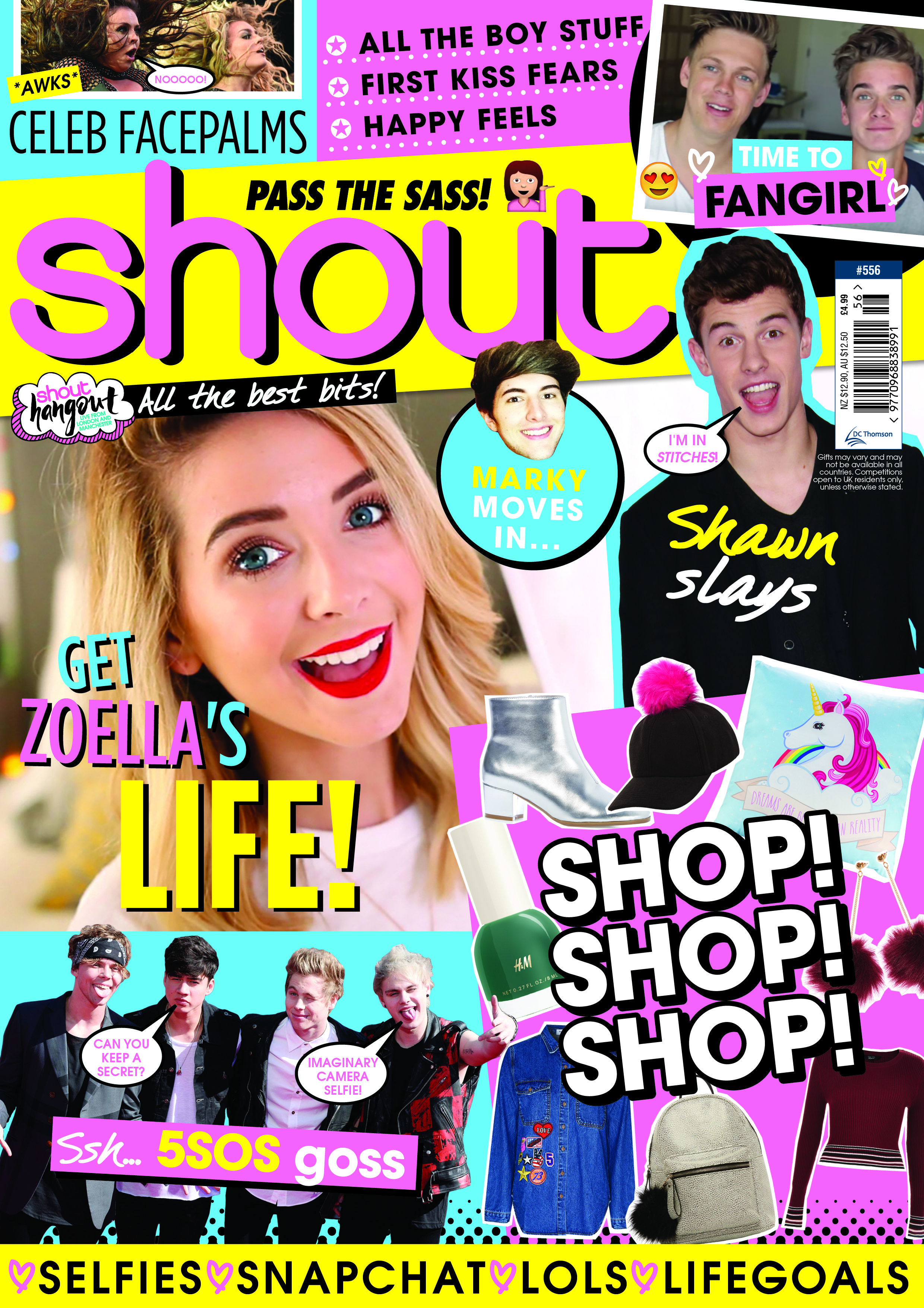Shout Zoella Shopping Boystuff Shout Covers Pinterest