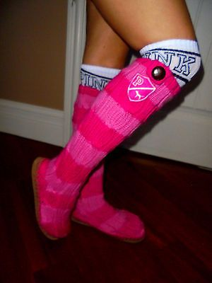 Victoria's Secret PINK cable knit mukluk knit sock boots euc 5/6 Small https://t.co/riQZig4D0X https://t.co/7SB3oZUcTx