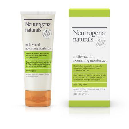 Neutrogena Naturals Multi Vitamin Daily Face Moisturizer 3 Fl Oz