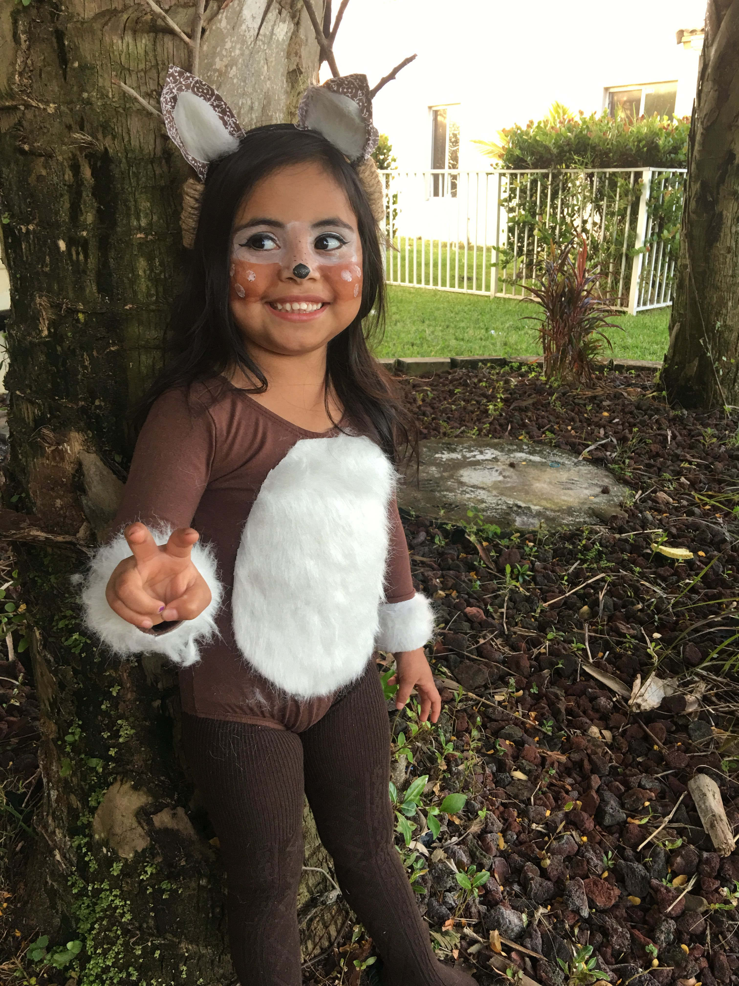 Reindeer Doe Costume Halloween Diy Diy Costumes Kids Reindeer Costume Halloween Costumes For Girls