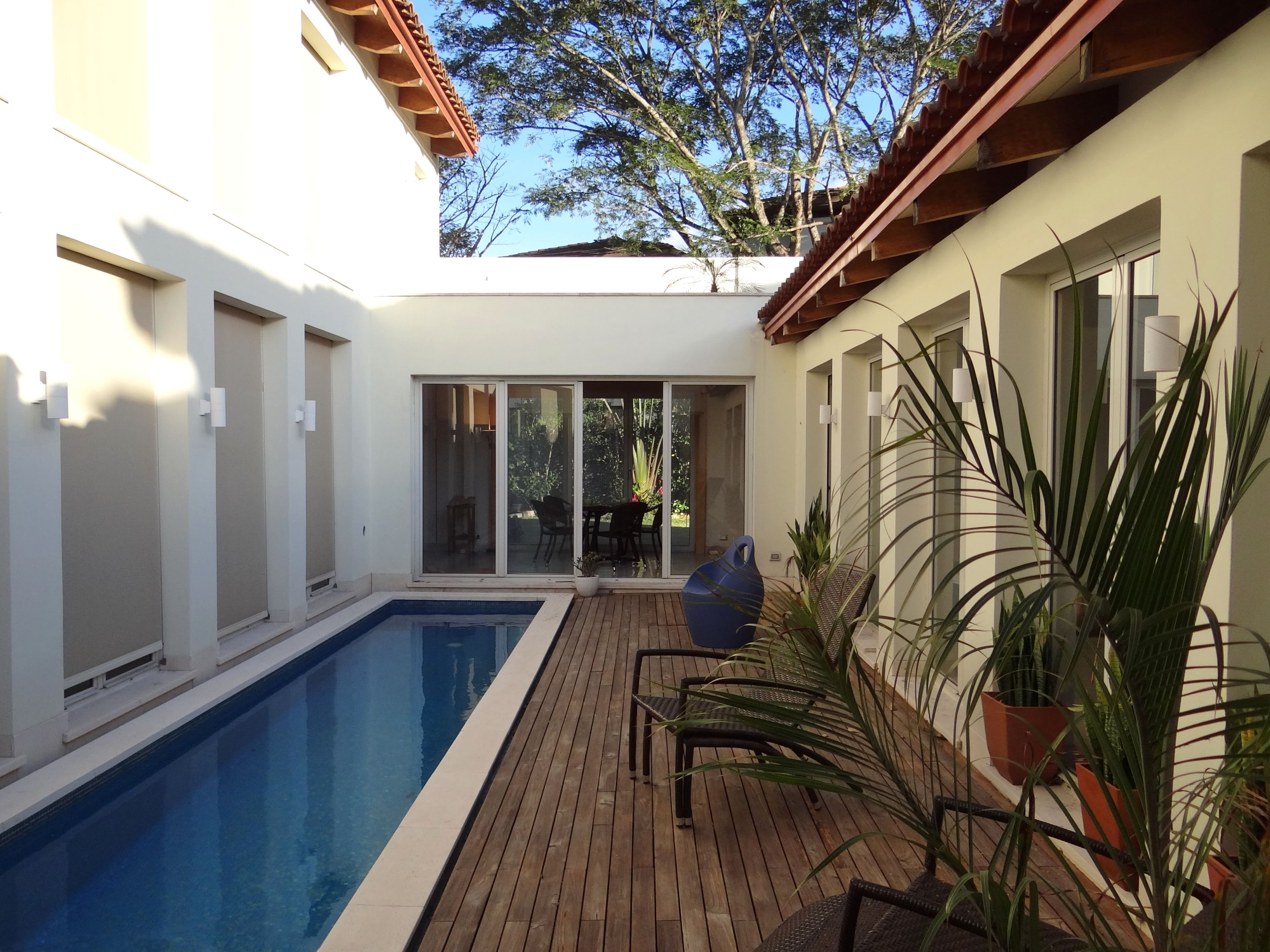 Luxury Home For Sale Santa Ana Costa Rica Bio Domus D  By Aroma Italiano Eco Design Courtyard Pool Inspiration Now For Sale