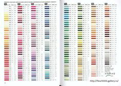 iris embroidery floss color chart: Gallery ru 175 rico 122 123 124 125 126 127