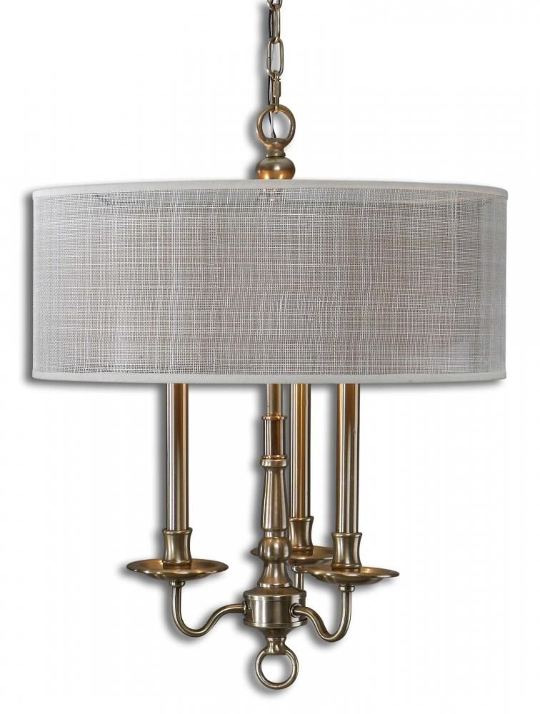 Candelabra style chandelier with Rust Beige Inner Hardback Drum Shade. | Dulles Electric Supply Corp  sc 1 st  Pinterest & Candelabra style chandelier with Rust Beige Inner Hardback Drum ...