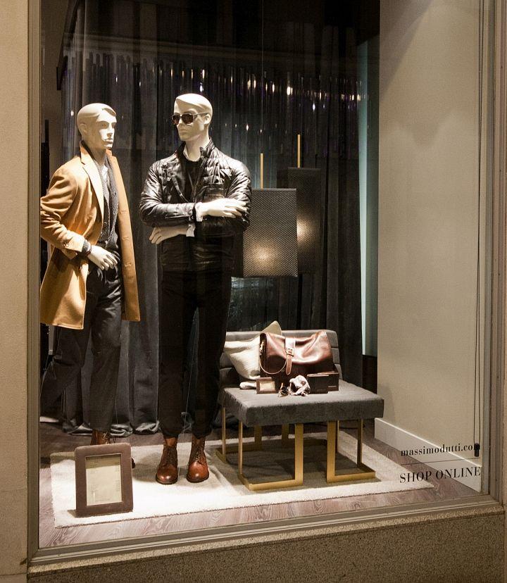 Massimo Dutti Windows 2015 Fall London UK Retail Design Blog