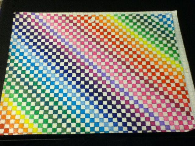 Colored Graph Paper Unfinished by AmbreLaRock on deviantART ...