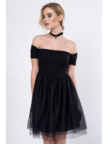 Omuz Bantli Tul Elbise Moda In Turkey Elbise Mini Elbiseler Elbiseler
