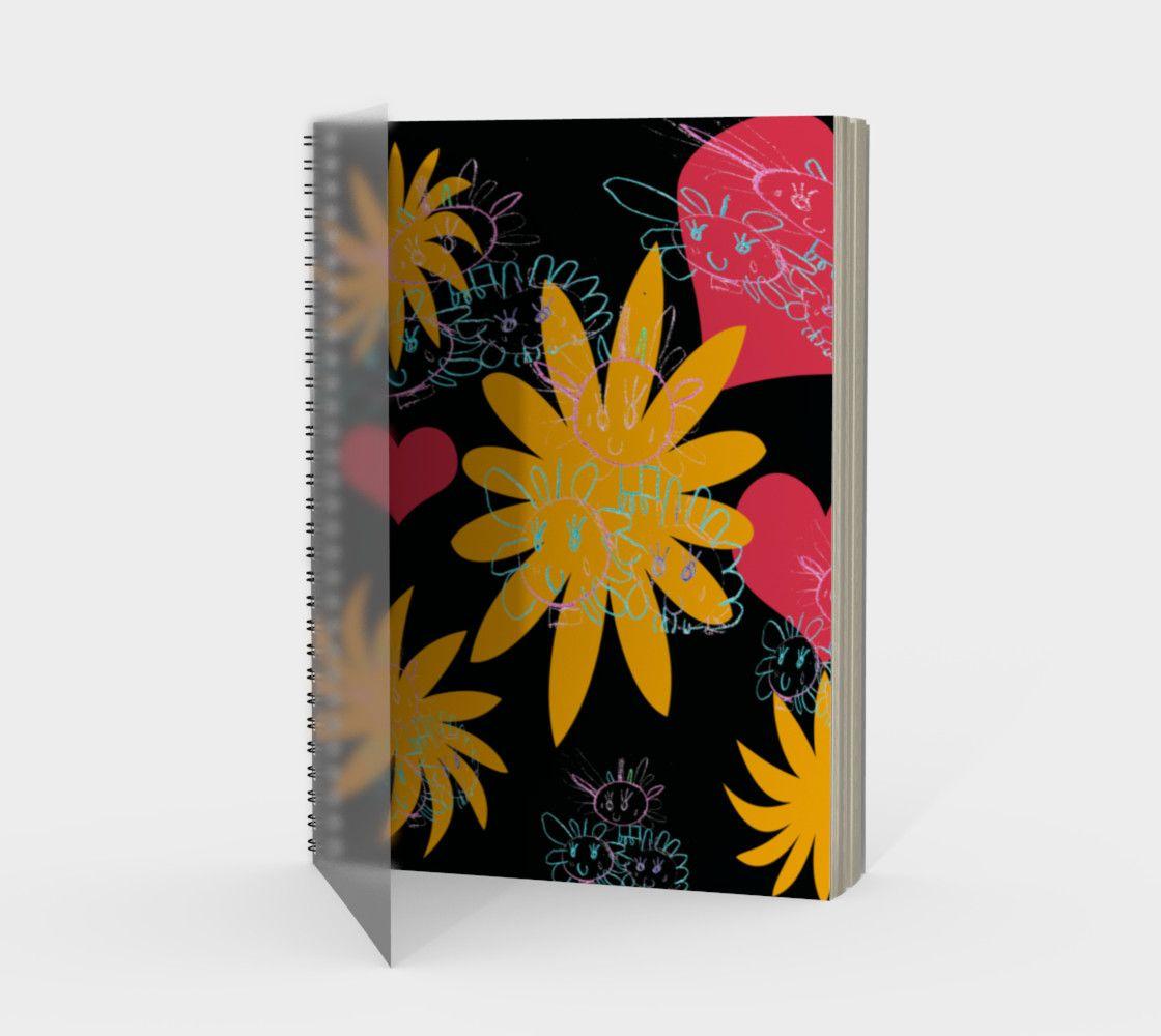 Quilla Spiral Notebook Artwork prints, Artwork, Prints