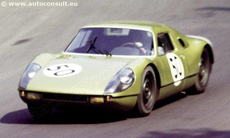 50 - Porsche 904 GTS #088 - S. M. A. R. T.