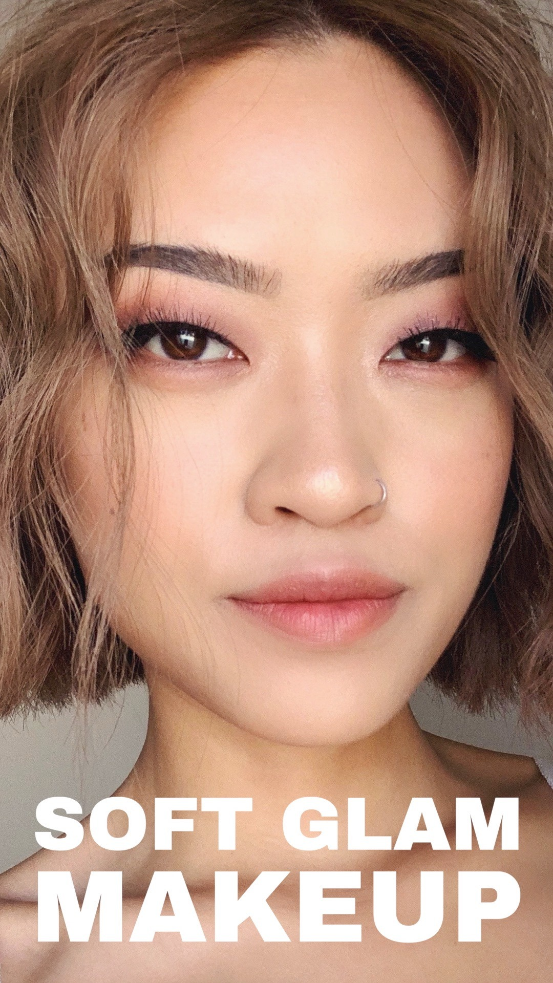 Soft Glam Aesthetic Makeup Tutorial