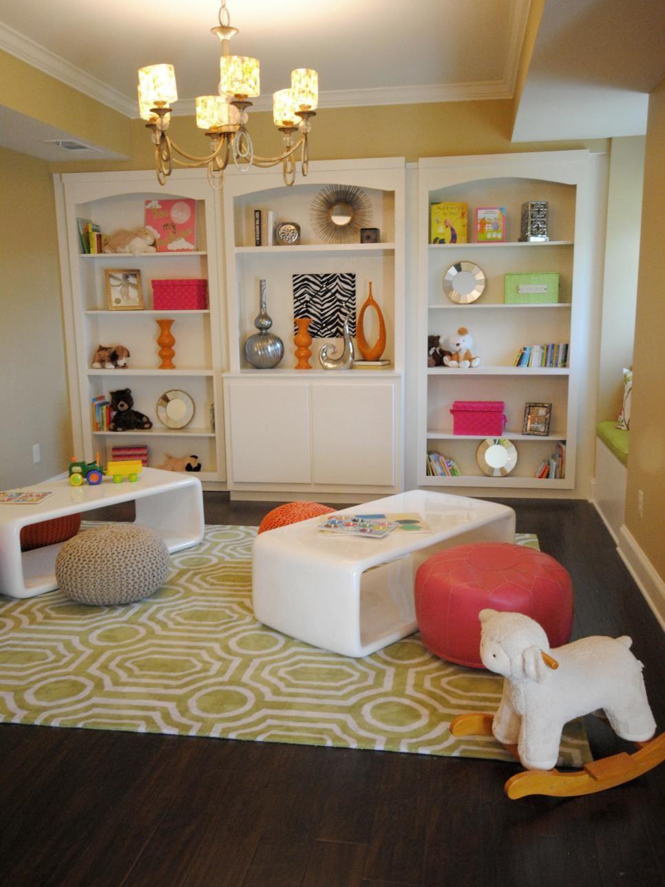 20 Cool Hidden Rooms + Secret Passages   Yellow playroom, Hidden ...