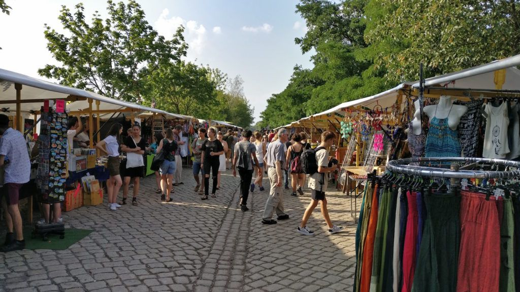 image result for berlin outdoor market stall
