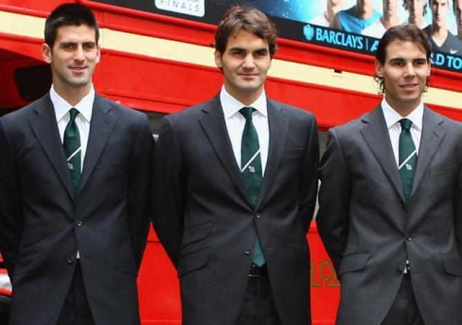 How Roger Federer Rafael Nadal And Novak Djokovic Changed Tennis History Like No Other Roger Federer Tennis Champion Tennis Legends