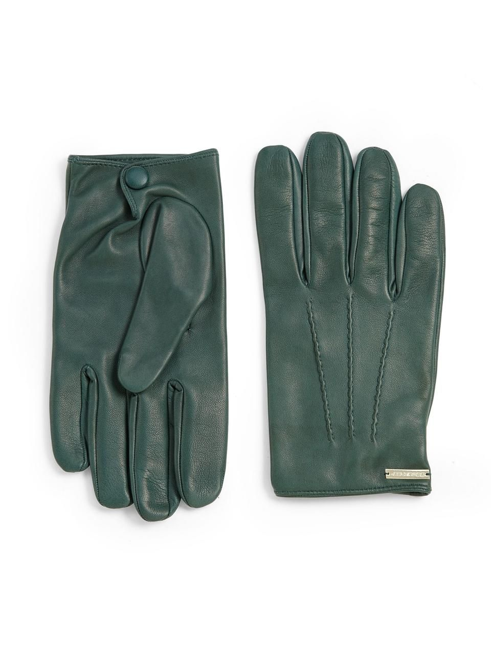 Very mens gloves - Nappa Gloves Mens Green Leather Gloves Love Wantering