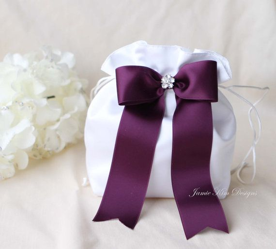 Wedding Dollar Dance Bag Money By Jamiekimdesigns Nicole Pinterest Pillows Ribbon Colors And Flower Basket