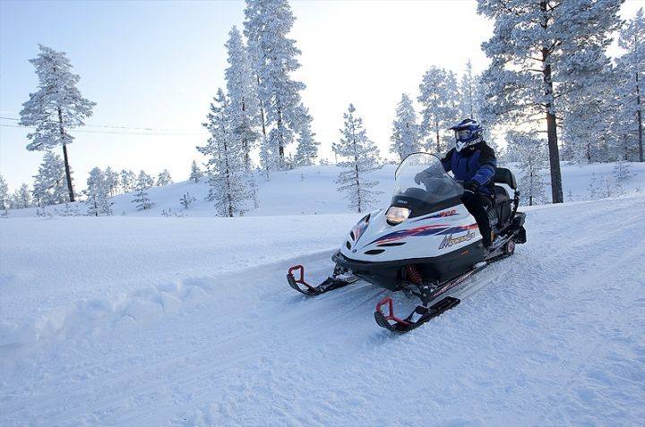 Winter activities. Rokua Health & Spa Hotel. Finland.
