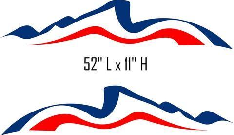 Sw21 Swoosh Swish Rv Motor Home Replacement Decals Rv