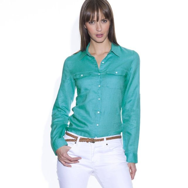 Zoom sur une des tendances phares du printemps : le nouveau vert | Le Mag Castaluna - Blog mode grande taille