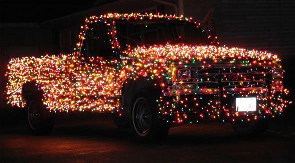 3,000 Lights on Christmas Truck - 3,000 Lights On Christmas Truck Lights, Camera, CHRISTMAS