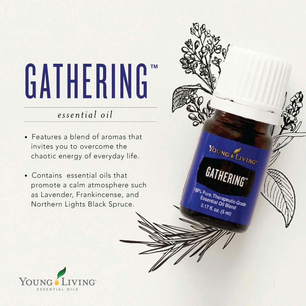 Gathering Essential Oil Young Living Contains Lavender