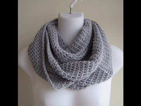 Project | Infinity Scarf - YouTube Joanne shows an easy w ...