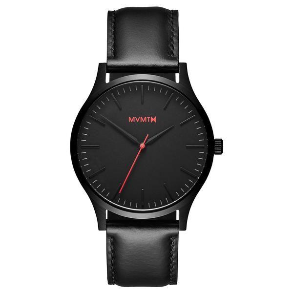 The 40 - Black/Black Leather