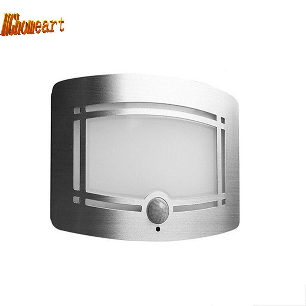 Hghomeart Infrared Led Sensor Night Light Wireless Infrared Motion