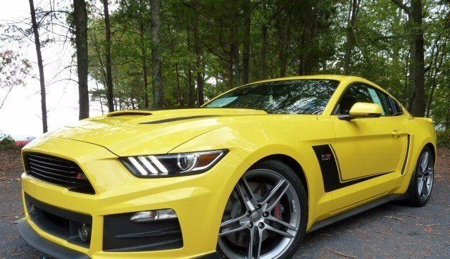 2016 Ford Mustang Roush Stage 3 In Yellow 61533 Ford Mustang Roush Ford Mustang Mustang