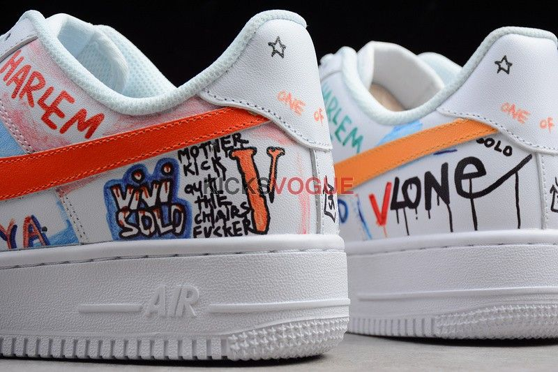 12639f76973b VLONE x Nike Air Force 1 Low A AP Bari s Son Mase Custom - Nike ...